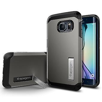 Spigen Samsung Galaxy S6 kant sag hårde rustning serie - Gunmetal
