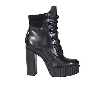 Kendall + Kylie women's KKCOTY01 black leather ankle boots