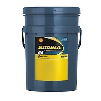 Shell 550012924 Rimula R5 E 10W-40 20L Energy Saving Synthetic Technology Diesel