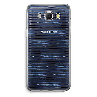 Samsung Galaxy J5 (2016) Transparent Case - Surprising lines