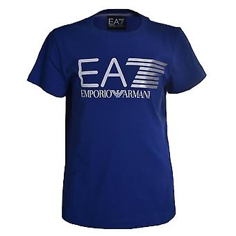 EA7 Boys EA7 Kids Blue T-Shirt