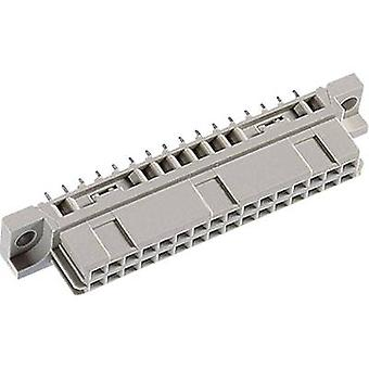 Edge connector (receptacle) 102-90075 Total number of pins 32 No. of row