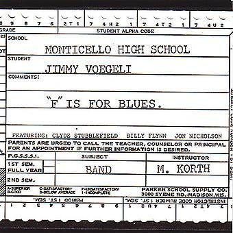 Jimmy Voegeli - F jest dla importu z USA Blues [CD]