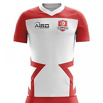 2018-2019 Tunisia Home Concept Football Shirt (Kids)