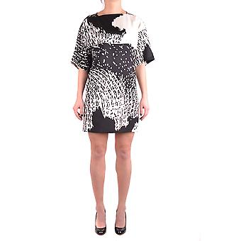 Eggs women's MCBI419003O black polyester dress