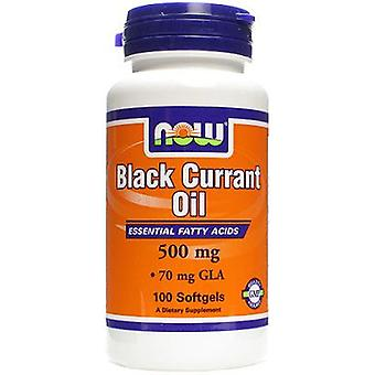 Now Foods Black Currant Oil 500Mg 100 Softgels (Sport , Athlete's health , Omega 3-6-9)