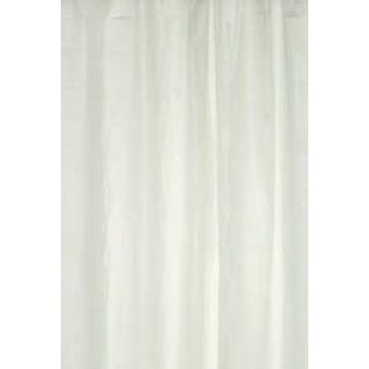 White Plain Peva Shower Curtain 180 x 180cm