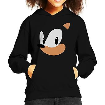 Sonic The Hedgehog Portrait Kid's Hooded Sweatshirt
