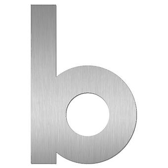 Nathan house number MIDI letter b stainless steel 64481-072