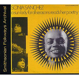 Sonia Sanchez - Sun Lady for All Seasons Reads Her Poetry [CD] USA import