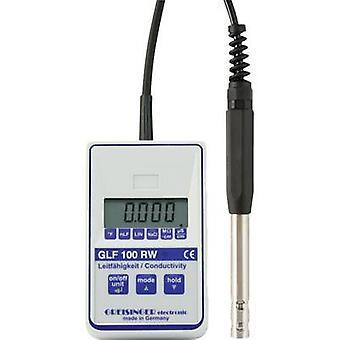 Probador de Multi 100RW GLF GREISINGER conductividad, temperatura 0,000 - 100 μs/cm calibrado a los estándares del fabricante (no