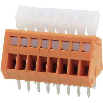 Degson DG240-2.54-02P-15-00AH Spring-loaded terminal 0.51 mm² Number of pins 2 Orange 1 pc(s)