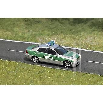 Busch 5630 H0 MB C-klasse politie met knipperende lichtjes