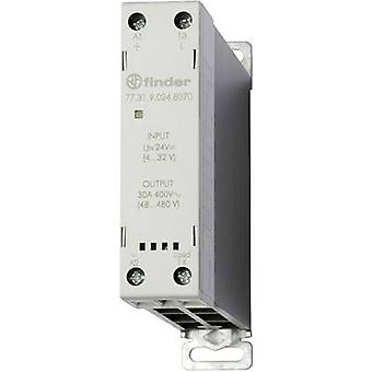 Finder SSR 1 PC('s) 77.31.9.024.8070 huidige belasting (max.): 30 A schakelen spanning (max.): 480 V AC nul kruising
