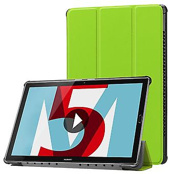 Premium Smart cover green case for Huawei MediaPad T5 10.1-inch sleeve case pouch