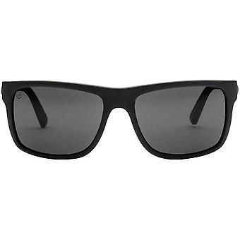 Elektrische California Schwinge Sonnenbrillen - matt schwarz/grau