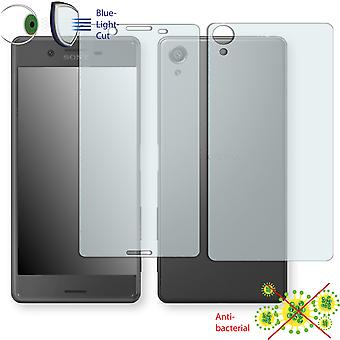 Sony Xperia X screen protector - Disagu ClearScreen protector (2 x front / 2 rear) (miniature sheet)