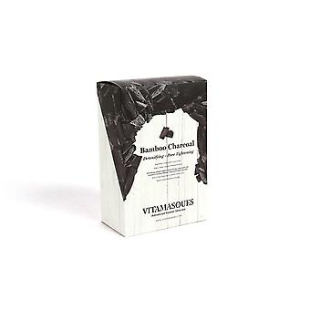 Vitamasques Bamboo Charcoal (Box of 4) Detoxifying + Pore Tightening