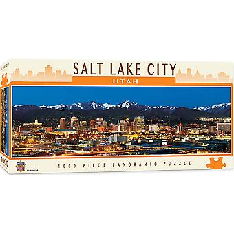 Salt Lake City, Utah 1000 stuk panoramisch puzzel 990 x 330 mm (mpc)