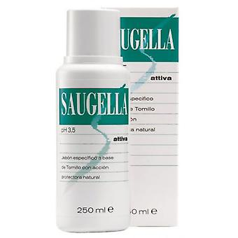 Saugella Attiva Liquid Soap Ph 3,5 250 ml (Hygiene and health , Intimate hygiene , Soaps)