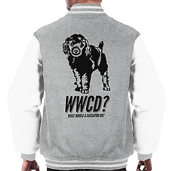 What Would A Cockapoo Do Men's Varsity Jacket