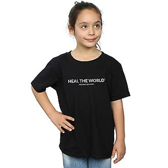 Michael Jackson Girls Heal The World T-Shirt