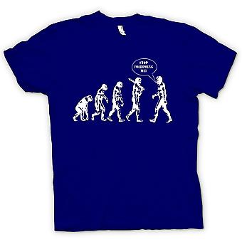 Kinder T-shirt - Evolution - Stop nach mir
