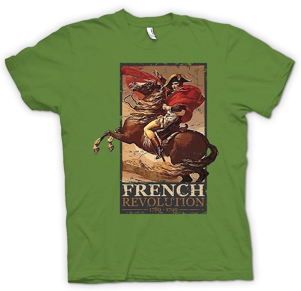 Mens t-shirt - rivoluzione francese - Napoleone ispirato