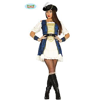 Deluxe pirate dress costume for ladies pirate captain Carnival