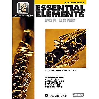 Essential Elements 2000: Comprehensive Band Method: Clarinet Book 1