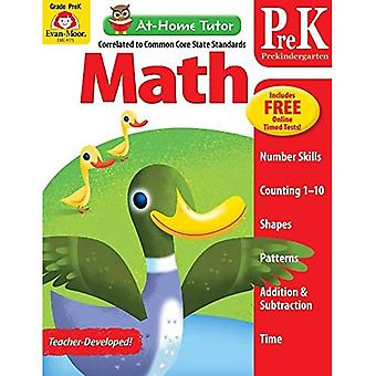 At-Home Tutor Math, Prekindergarten