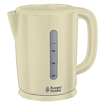 Russell Hobbs 21473 Darwin 1.7L 2200W Electric Cordless Kettle - Cream