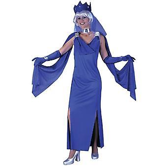 Blå elskerinne Adult kostyme