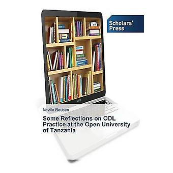 Some Reflections on ODL Practice at the Open University of Tanzania by Reuben Neville