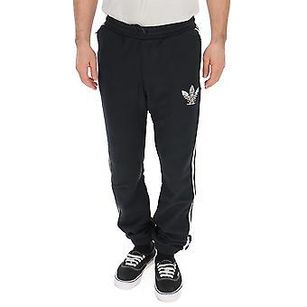 Adidas Black Cotton Pants