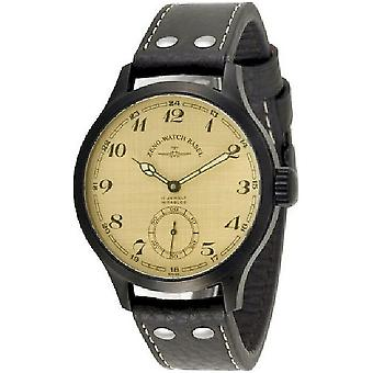 Zeno-Watch Herrenuhr OS Retro Retro black 8558-6-bk-i9-num