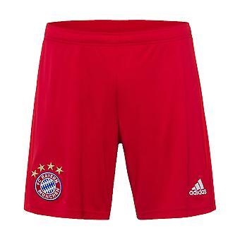 2019-2020 Bayern Monaco pantaloncini adidas Home (rosso)-bambino