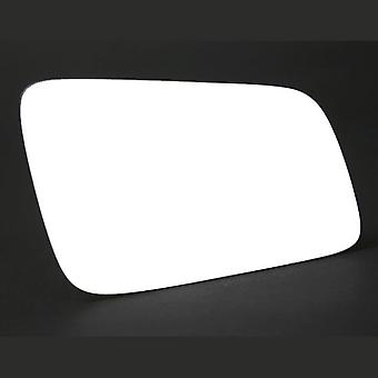 Right Driver Side Stick-On Mirror Glass OPEL ASTRA G Coupe 2000-2005