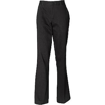 Henbury - Women's Ladies Teflon®-Coated Flat Front Trousers
