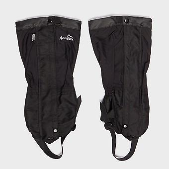 New Peter Storm Trek Waterproof Walking Gaiters Black