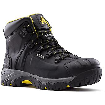 Amblers Safety Mens AS803 Leather Steel Toe Safety Boots