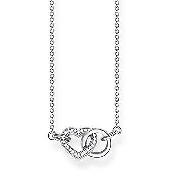 Thomas Sabo silver silverhänge halsband Sterling 925 KE1643-051 -14-L45v