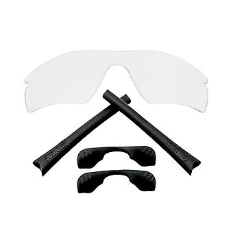 Replacement Lenses Accessories Compatible with OAKLEY RADAR PATH Clear & Black