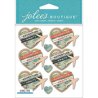 Jolee's Boutique Dimensional Stickers-Airplanes E5021873