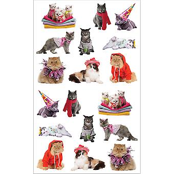 Mrs. Grossman's Stickers Pampered Cats Mg199 14745