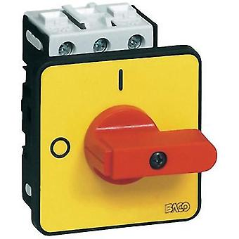 Switch disconnector fuse 32 A 1 x 90 ° Yellow, R