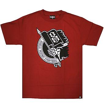 Rebel8 Destroy Everything Men's T-shirt Cardinal