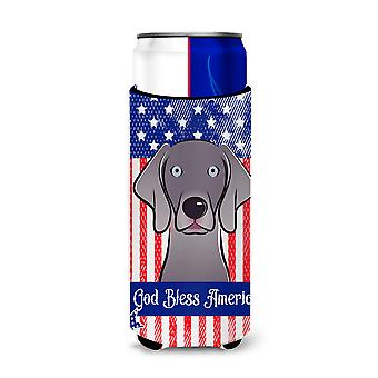 Weimaraner Michelob Ultra Koozies for slim cans BB2161MUK