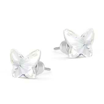 Butterfly stud earrings EMB 4.4