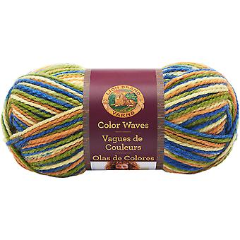 Color Waves Yarn-Cactus Flower 595-204